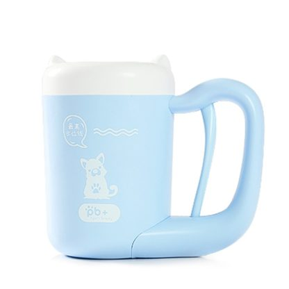 Automatic Paw Cleaning Cup Blue