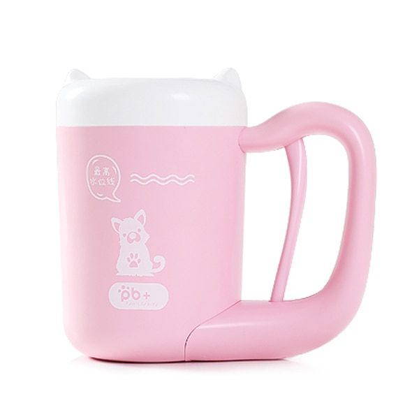 Automatic Paw Cleaning Cup Pink