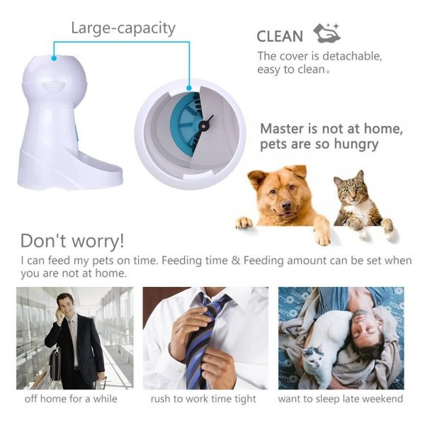 Automatic Pet Feeder features