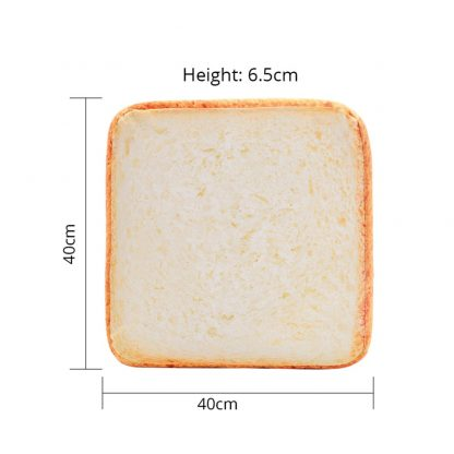 Cat Toast Bed measurements