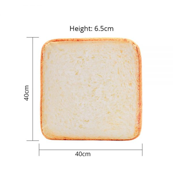 Cat Toast Bed measurements