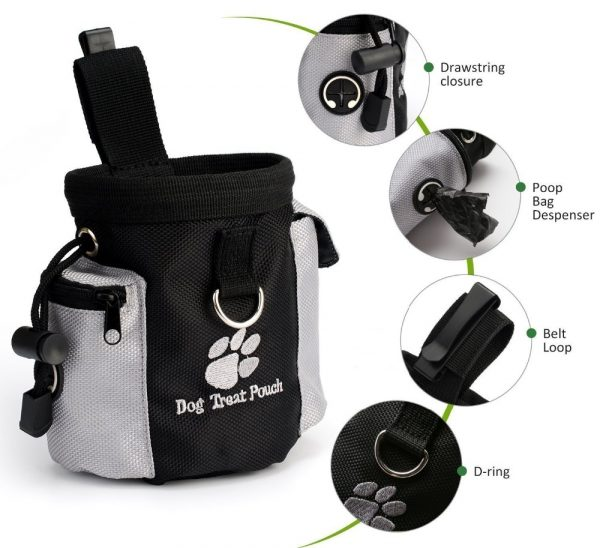 Dog Training Treat Pouch description of features
