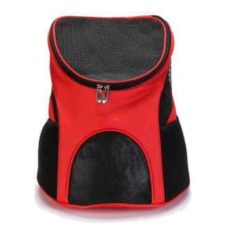 Pet Carrier Backpack Red