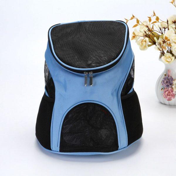 Pet Carrier Backpack Blue