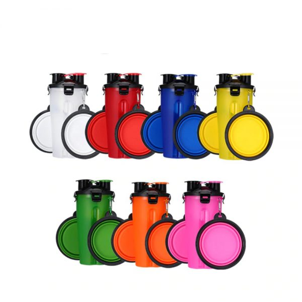 2 in 1 Pet Travel Bottle with Bowl Collection