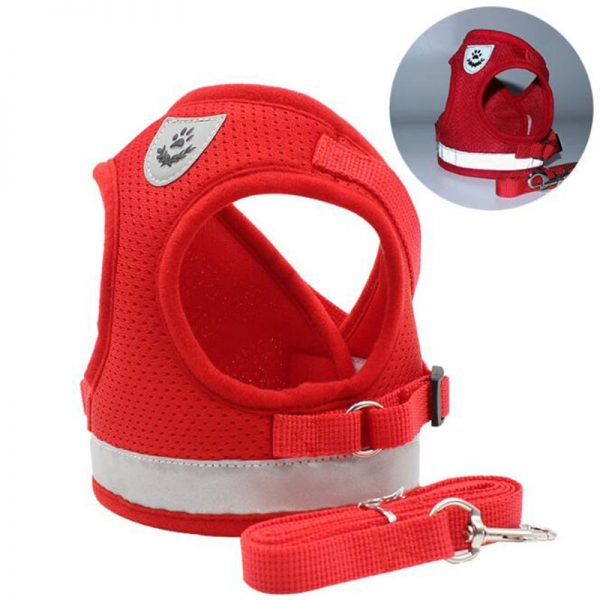 Effosola Mesh Dog Harness with Leash