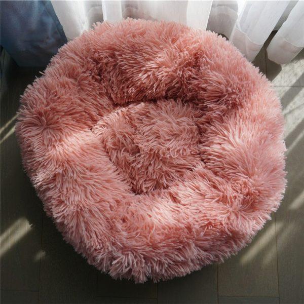 Soft Plush Round Dog Bed