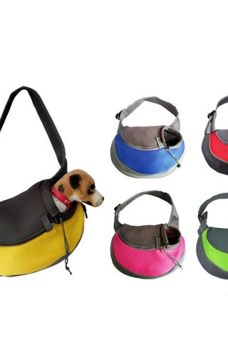 Dog Travel Carrier Sling Shoulder Pouch