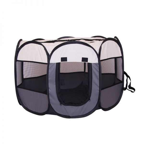 Portable Folding Octagonal Cage Pet Tent