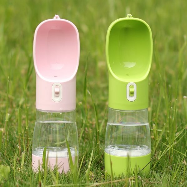 Hoopet Water Bottle Feeder Bowl and Treats Container