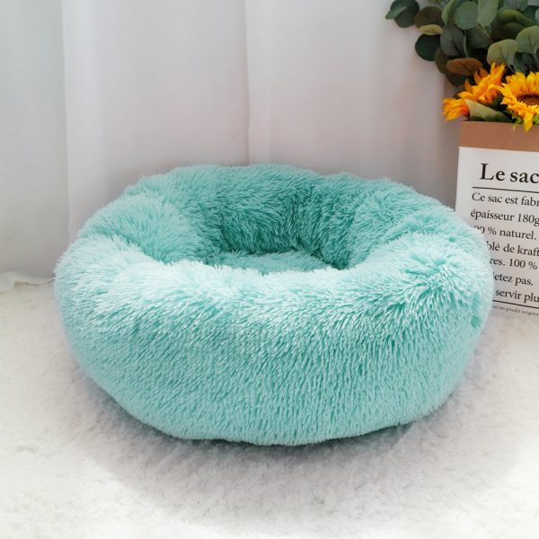 Fluffy Plush Calming Dog Bed