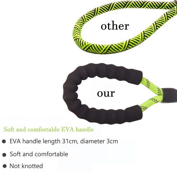 Nylon Dog Reflective Rope Leash