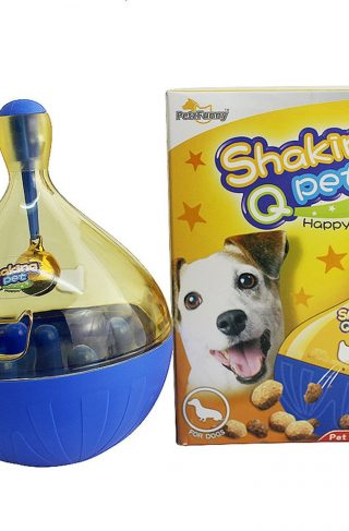 Interactive Dog Toy Tumbler Ball Feeder