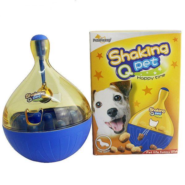 Interactive Dog Toy Tumbler Ball Feeder