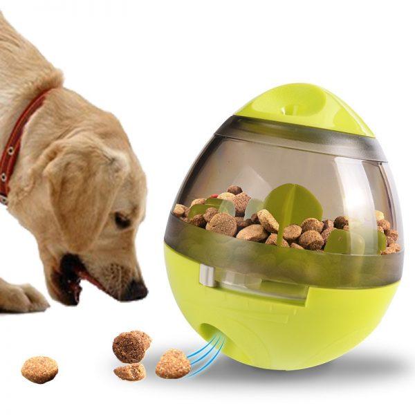Dog Feeder Tumbler Toy