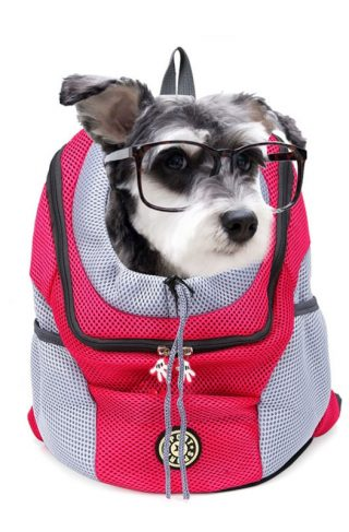 Dog Carrier Travel Backpack with Opening