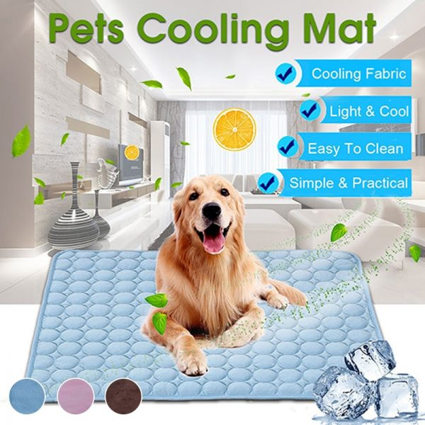 PuppyStar Dog Cooling Mat Blanket