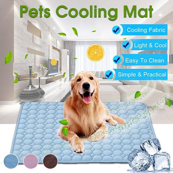 PuppyStar Dog Cooling Mat Blanket