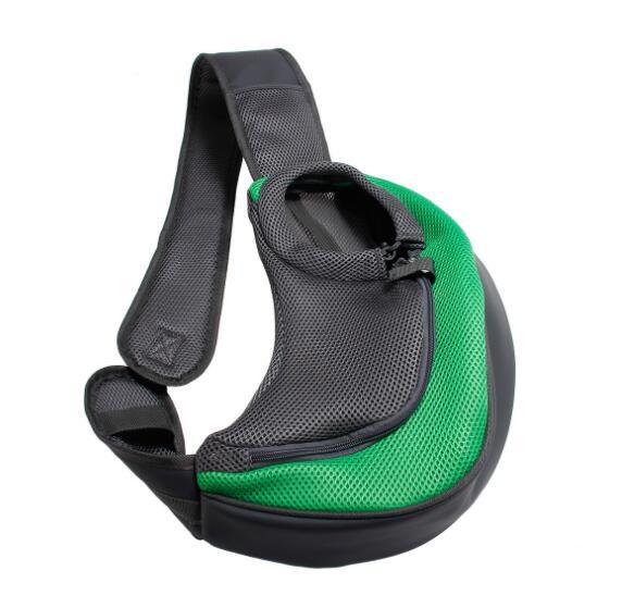 Dog Travel Carrier Sling Shoulder Pouch