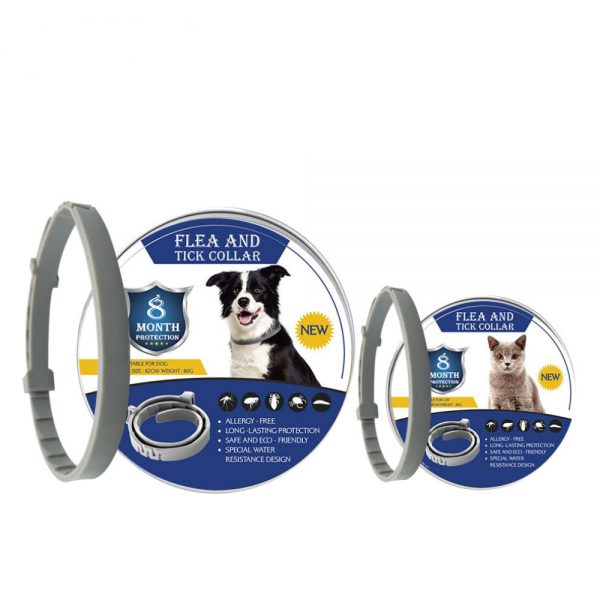 8 Month Flea and Tick Collar For Dogs and Cats