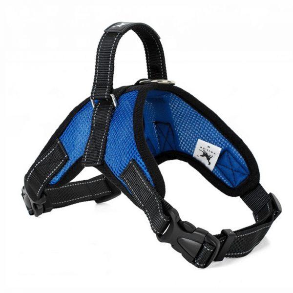 Tailup Mesh Dog Harness Blue