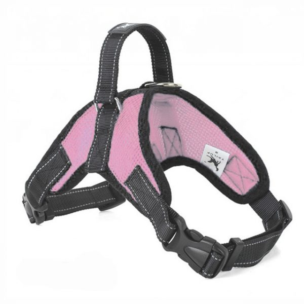 Tailup Mesh Dog Harness Pink
