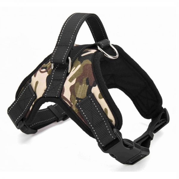 Tailup Oxford Dog Harness Camouflage