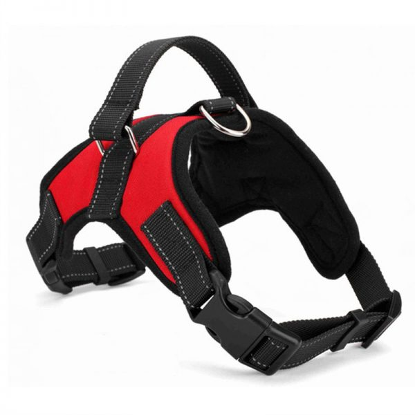 Tailup Oxford Dog Harness Red